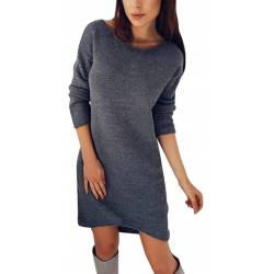 Robe Hiver Femme Manches...