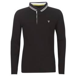 Guess Polo Shirt Black Size...